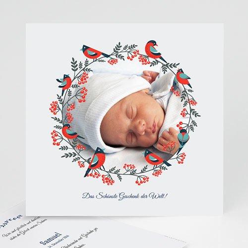Babykarten für Jungen - Weihnachten 45188