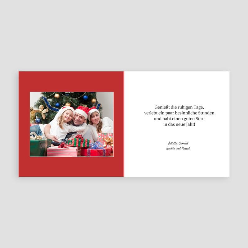 Weihnachtskarten Aquarell pas cher
