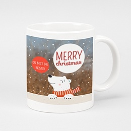 Fototassen Weihnachten Eisbär