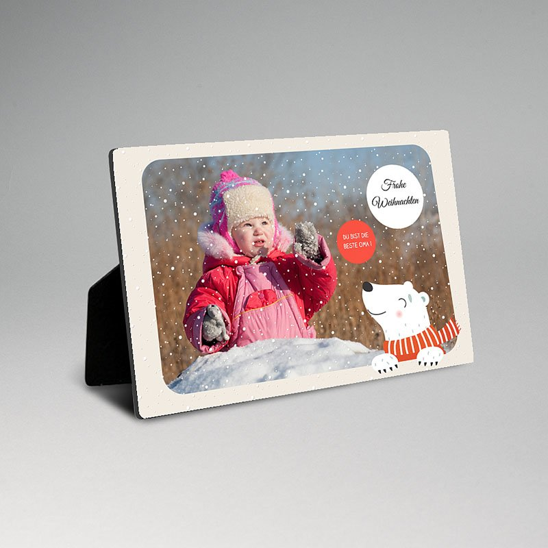 Fotorahmen Kleiner Bär
