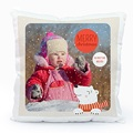 Personalisierte Foto-Kissen Eisbär