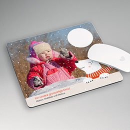Foto-Mousepad Eisbär