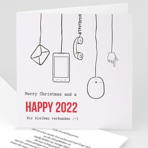 Weihnachtskarten - Soziales Netz 45262