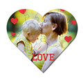 Personalisierte Foto-Puzzle Made with Love Puzzle