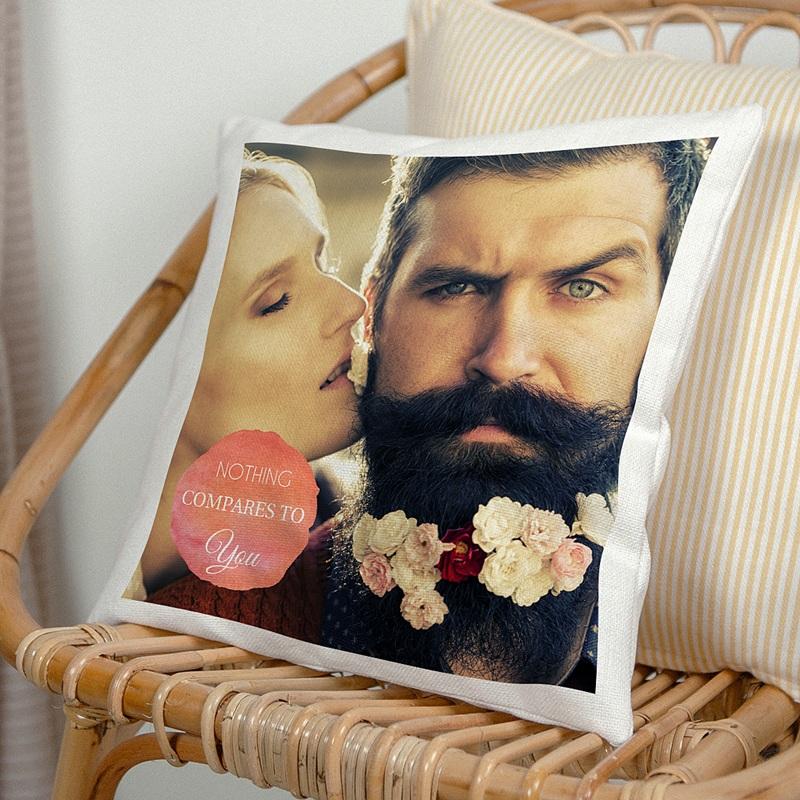 Personalisierte Foto-Kissen Speziell Verliebte