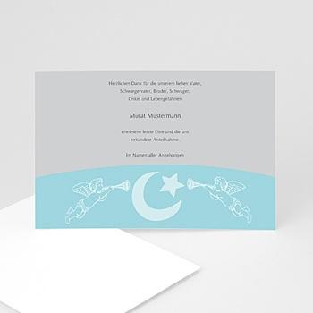 Trauer Danksagung muslimisch - Blaue Engel - 1