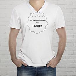 T-Shirt Weihnachten Hipster Weihnachten