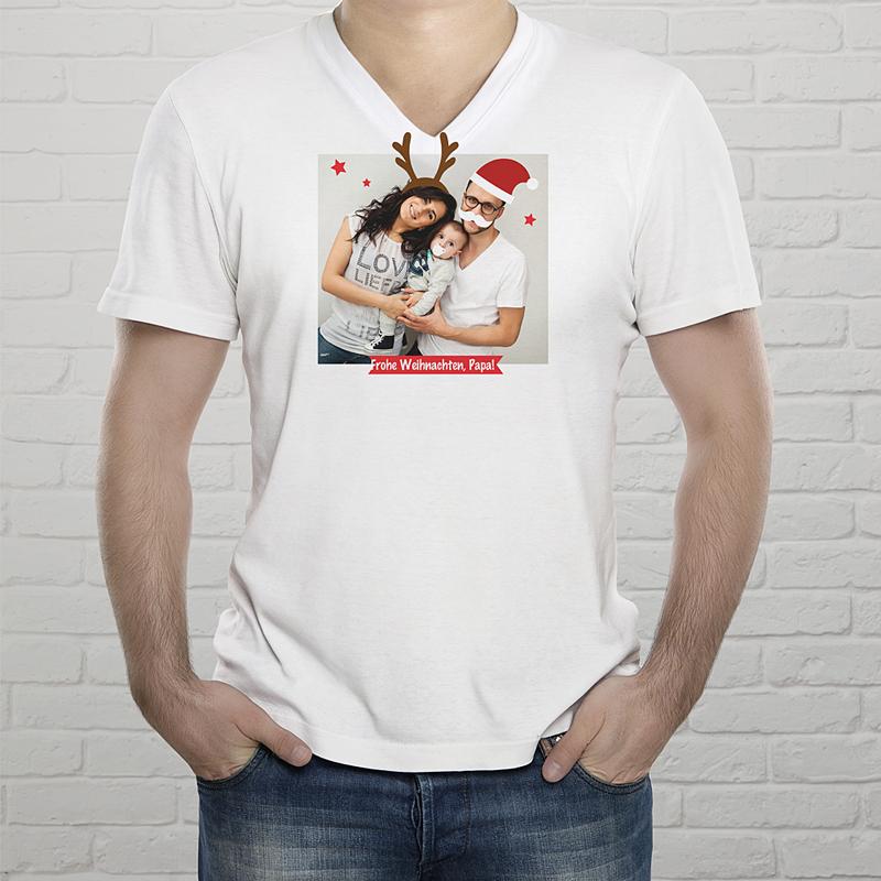 Tee-Shirt Mann Weihnachten