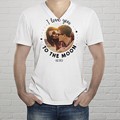 Tee-Shirt Mann T-love