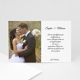 Danksagungskarten Hochzeit  Der Bund fürs Leben