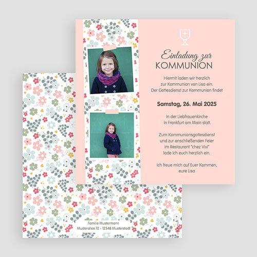 Einladungskarten Kommunion Mädchen - Liberty 45810 preview