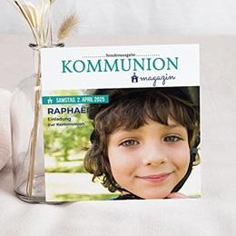 Einladungskarten Kommunion Jungen - Zeitschrift - 0