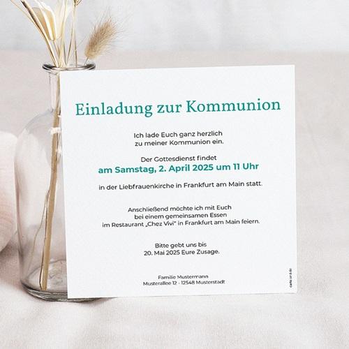 Einladungskarten Kommunion Jungen - Zeitschrift 45848 preview