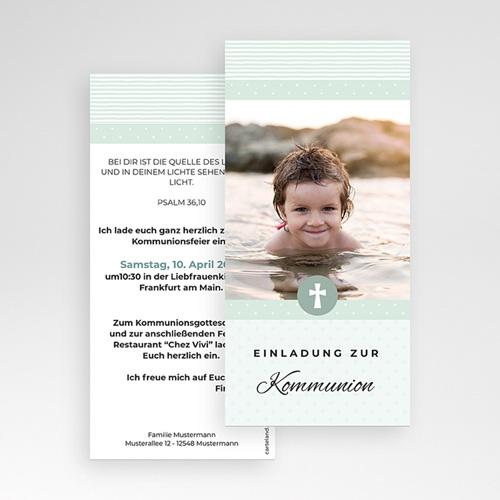 Einladungskarten Kommunion fur Jungen Pauline pas cher