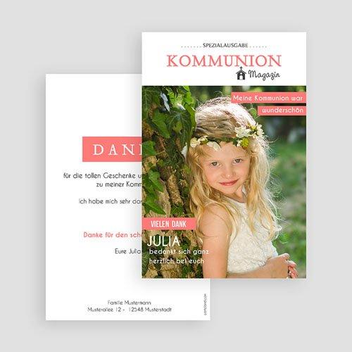 Dankeskarten Kommunion Mädchen - Das Fest 45887 preview