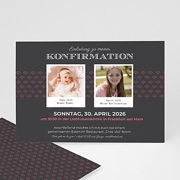 Einladungskarten Konfirmation Sakrament