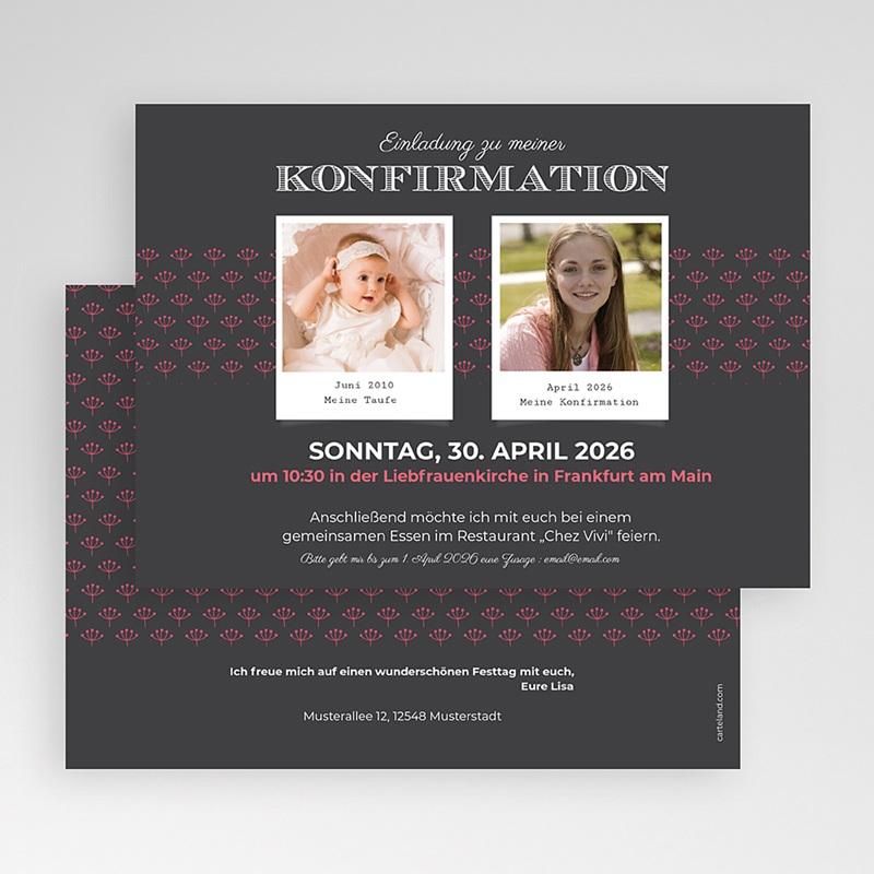 Einladungskarten Konfirmation - Sakrament 45947 thumb