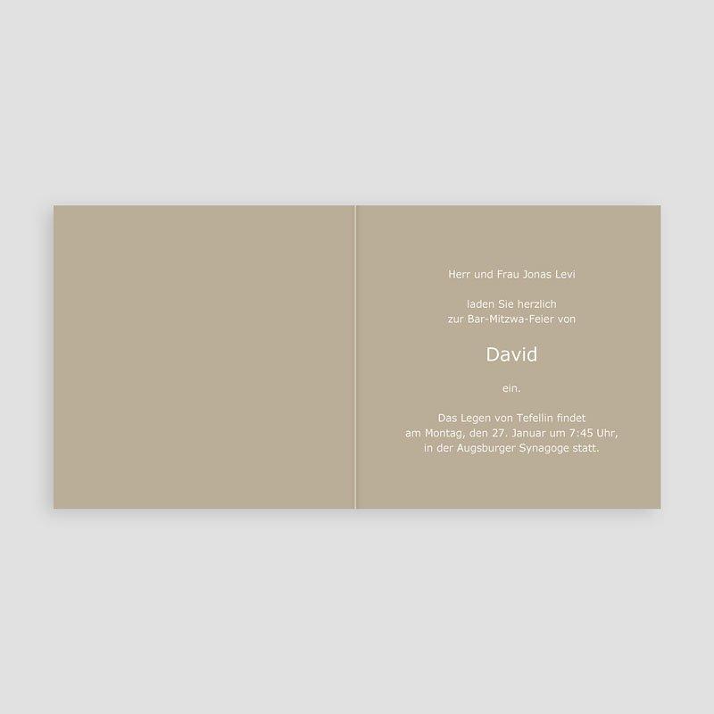 Einladungskarten Bar Mitzwah Jakob pas cher