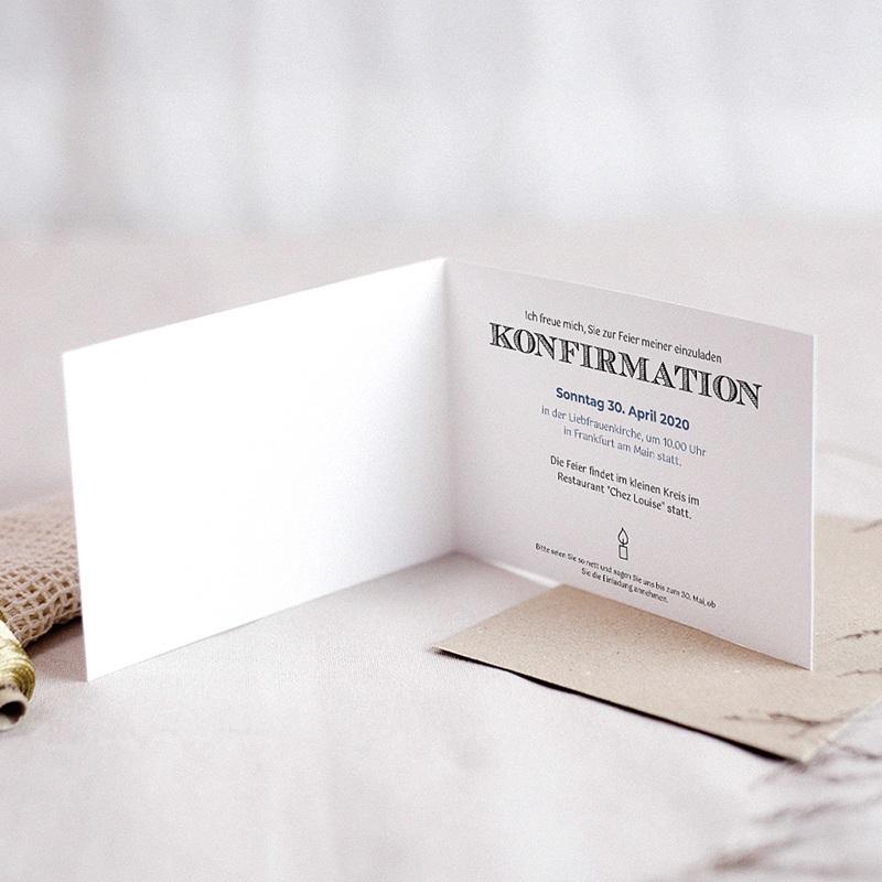 Einladungskarten Konfirmation - Heiliger Geist 45952 thumb