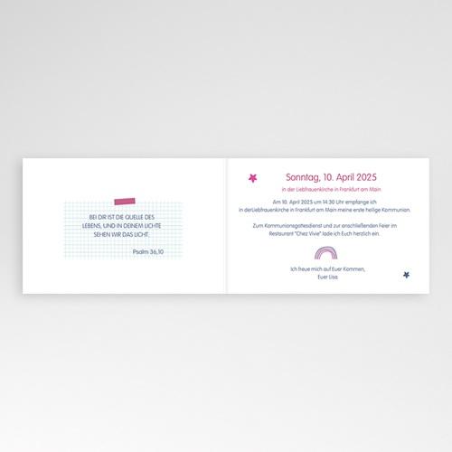 Einladungskarten Kommunion Mädchen - Eucharistie 45958 preview
