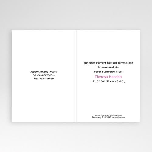 Geburtskarten für Mädchen - Magnolie 4627 preview