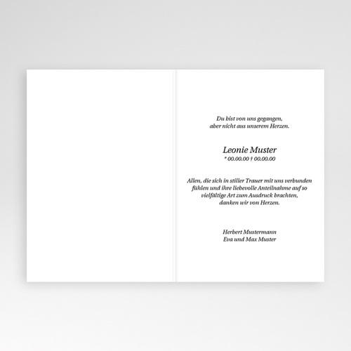 Trauer Danksagung weltlich - Ewiger Frieden 4635 preview