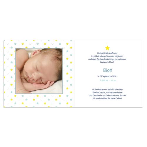 Babykarten für Jungen - Ein neuer Stern 46471 preview