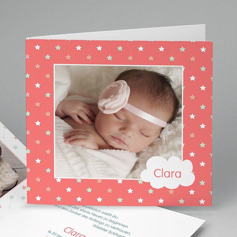 Foto-Babykarten gestalten - Sternenbedeckt 46479 thumb