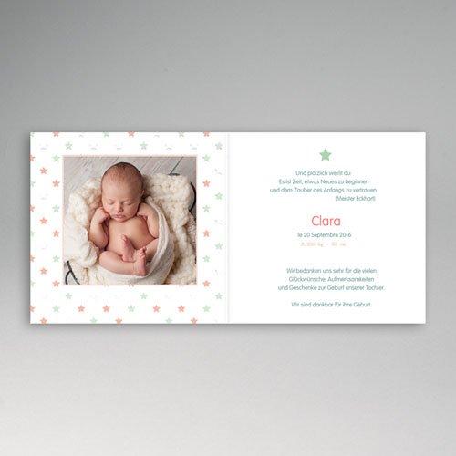 Foto-Babykarten gestalten - Sternenbedeckt 46480 thumb