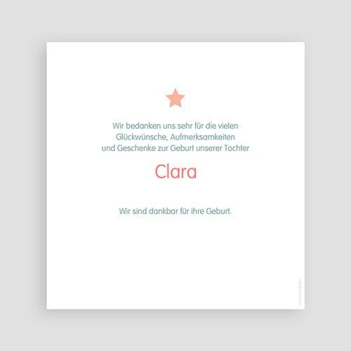 Dankeskarten Geburt Mädchen - Sternenbedeckt 46498 test