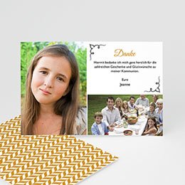 Danksagungskarten Konfirmation - Saint-Esprit, merci - 0