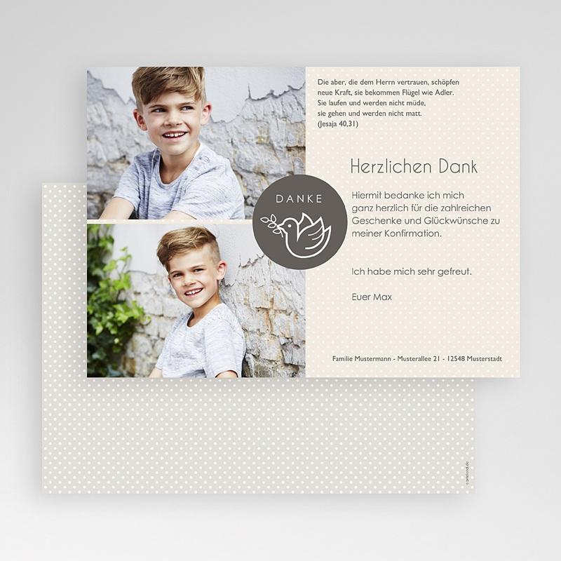Dankeskarten Kommunion Jungen - Jonas 46571 thumb
