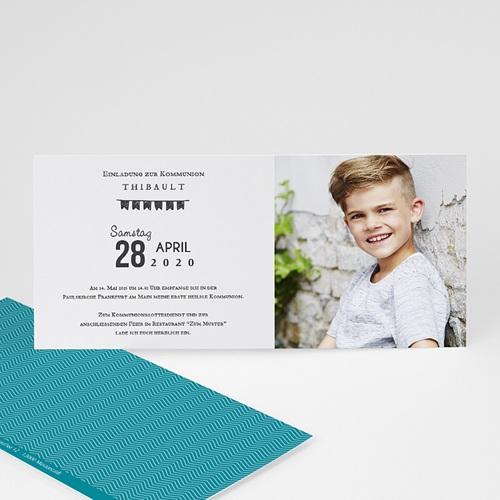 Einladungskarten Kommunion Jungen - Im Trend 46644