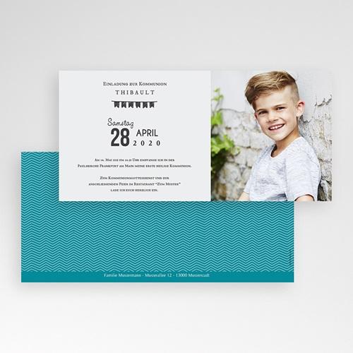 Einladungskarten Kommunion Jungen - Im Trend 46645 preview