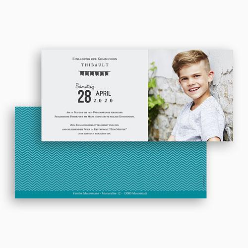Einladungskarten Kommunion Jungen - Im Trend 46646 preview
