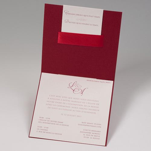Hochzeitseinladungen traditionell - Feurig 46853 preview