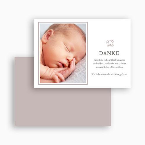 Dankeskarten Geburt Jungen - Moritz 46868 preview