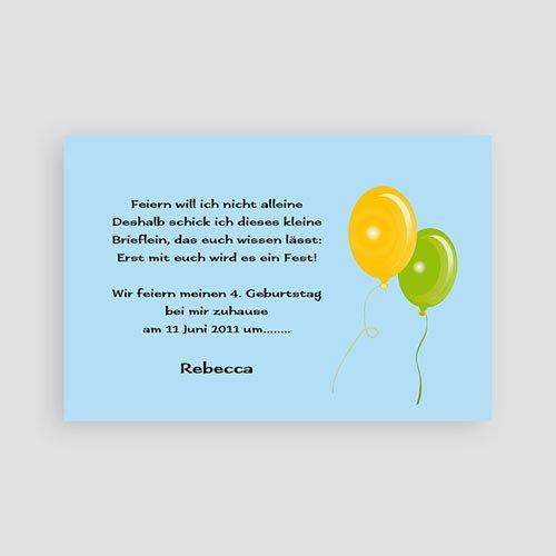 Einladungskarten Geburtstag Jungen Yui pas cher