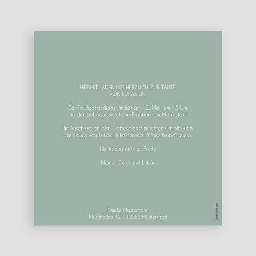 Einladungskarten Taufe Jungen  - Pastellblau 46968 preview