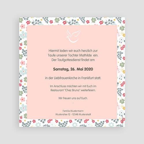 Einladungskarten Taufe Mädchen - Liberty 46977 preview