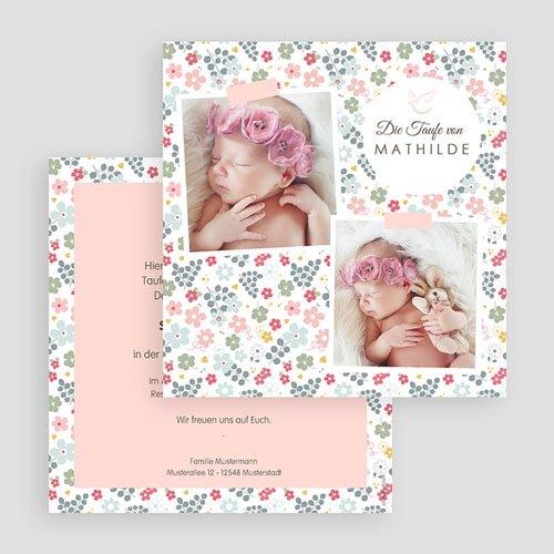 Einladungskarten Taufe Mädchen - Liberty 46978 preview