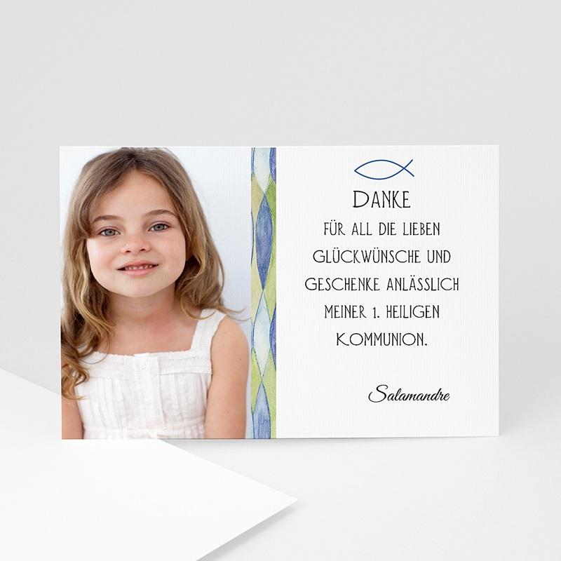 Dankeskarten Kommunion Mädchen - Jael 4698 thumb