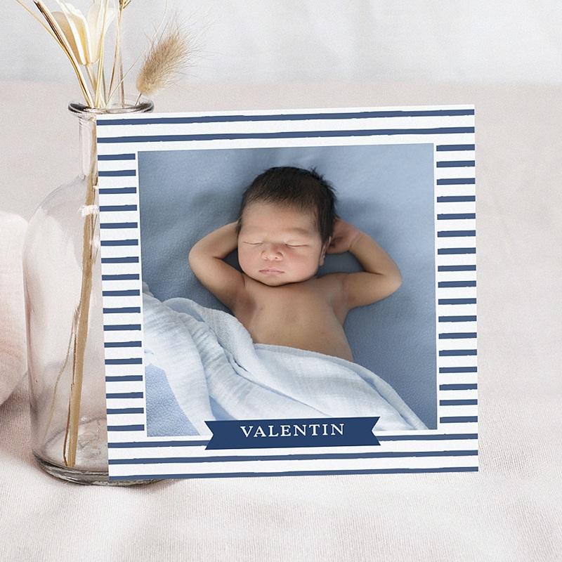 Einladungskarten Taufe Jungen  - Kleiner Seemann 46985 thumb