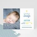 Einladungskarten Taufe Jungen  - Täufling 47015 test