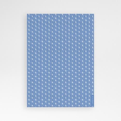 Einladungskarten Taufe Jungen  - Blaues Aquarell 47043 preview