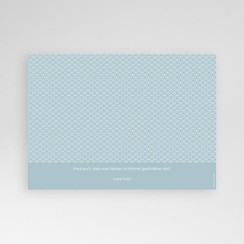 Einladungskarten Taufe Jungen  - Ozean 47070 test