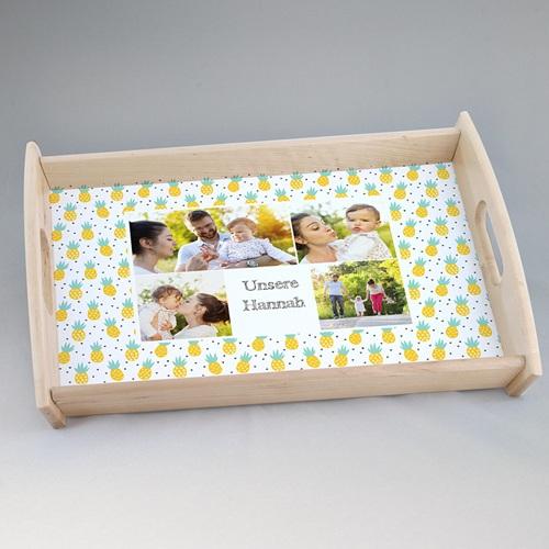 Foto-Tablett  - Ananas & pineapples 47132