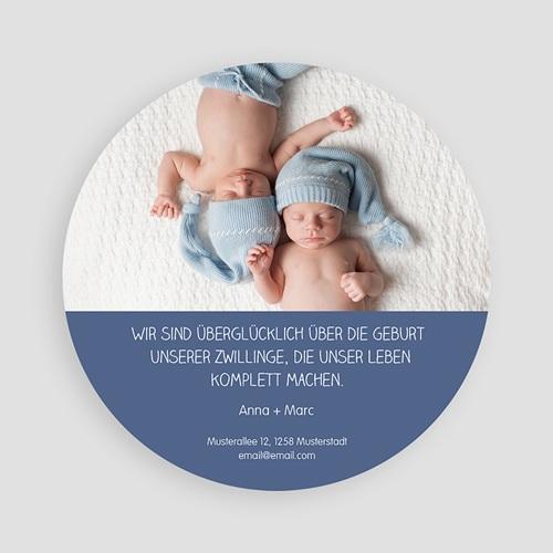 Babykarten für Zwillinge gestalten - Zwillingsmäuse 47191 test