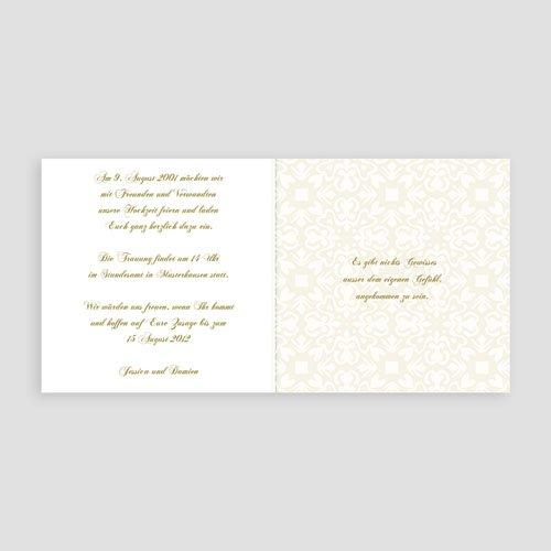 Orientalische Hochzeitskarten  Goldene Eleganz pas cher