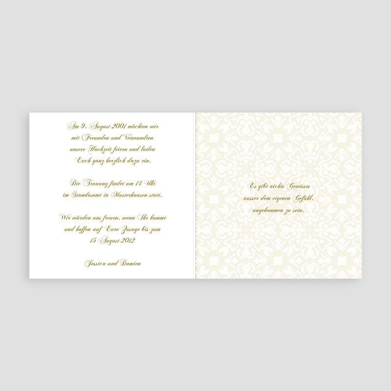 Orientalische hochzeitskarten goldene eleganz - Hochzeitseinladung text modern ...